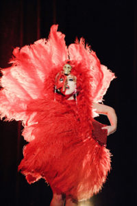 Roxie Moxie of Seattle performs.  Photo: Ben Britt