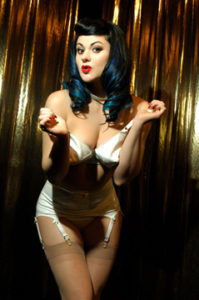 International Burlesque Superstar Roxi DLite headlines Saturday night's events with her amazing aerials!  Photo: Courtesy of TXBFest