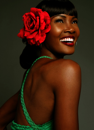 Angelique Noire by Winston Kerr.  MUA: Jeff Jones