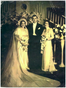 Ria's daughter Jana, given away on her wedding day by Mr. Gable