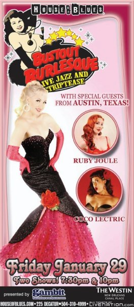 A great example of showing personality in your shot, shooting in your best costume, the need for a solid, crisp background, and both full length and headshots.  This poster combines all of those things beautifully, and is a great example of the designer both using the original backgrounds, and cutting it out- in both cases, solid and bright is easiest.