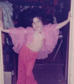 """""""I was born for burlesque.""""  Little Lisa Carmen"""