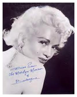 "Dixie Evans, ""The Marilyn Monroe of Burlesque"""