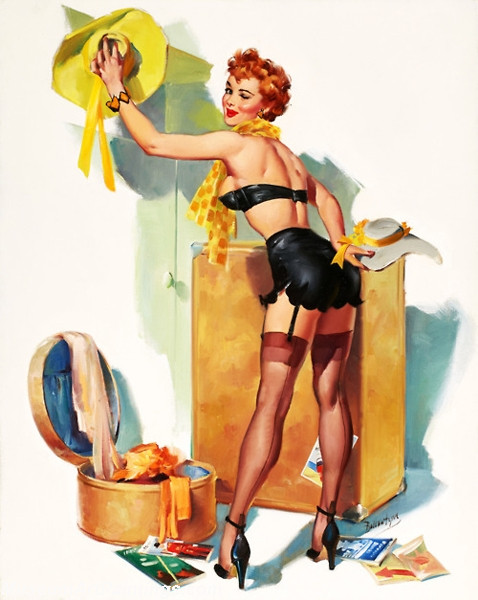 Modern-Pinup-Art-Paintings-Behind-In-Her-Packing-2123-38065